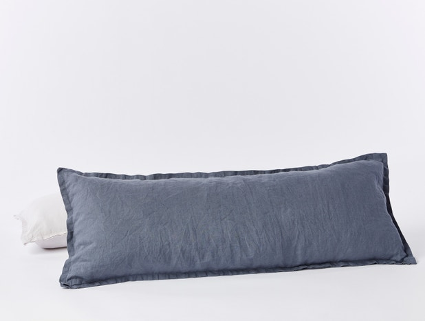 Organic Relaxed Linen Lumbar Pillow Cover