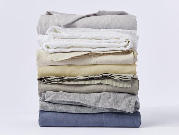 Organic Relaxed Linen Sheets