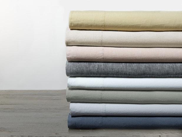 Organic Relaxed Linen Sheet Set Subscription