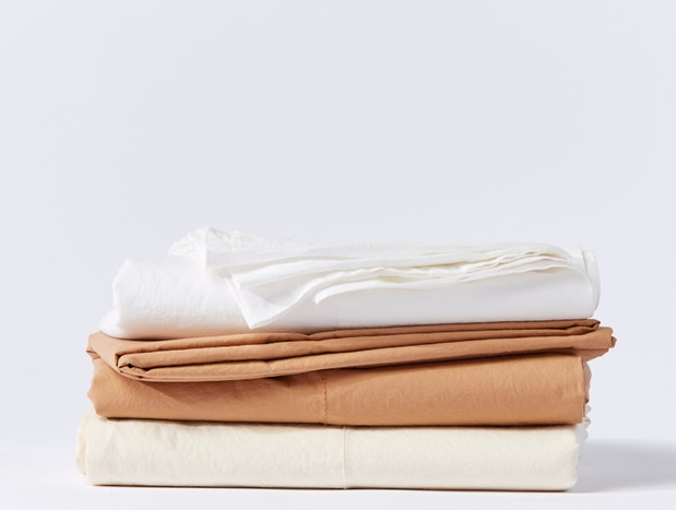 Organic Relaxed Percale Sheets