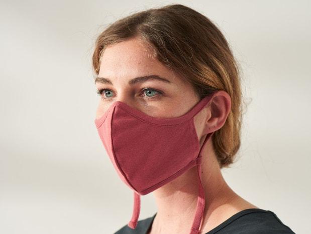Solstice Organic Jersey Face Masks, Set of 3