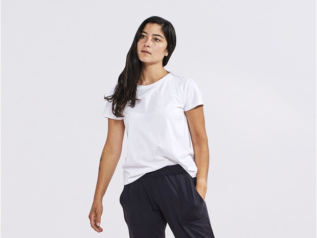 Women's Solstice Organic Short Sleeved Crew