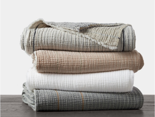 Topanga Organic Matelasse Blanket