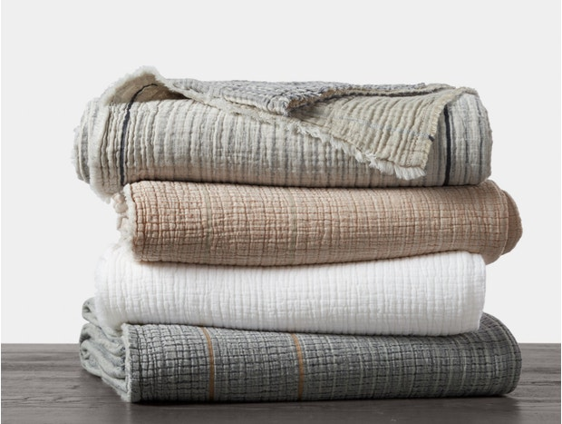 Topanga Organic Matelasse Blanket Subscription