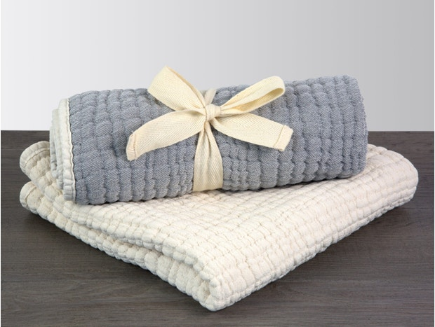 Wave Matelasse Changing Pad