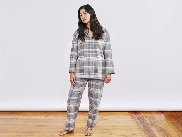 Women's Cloud Brushed™ Organic Flannel Pajama Set