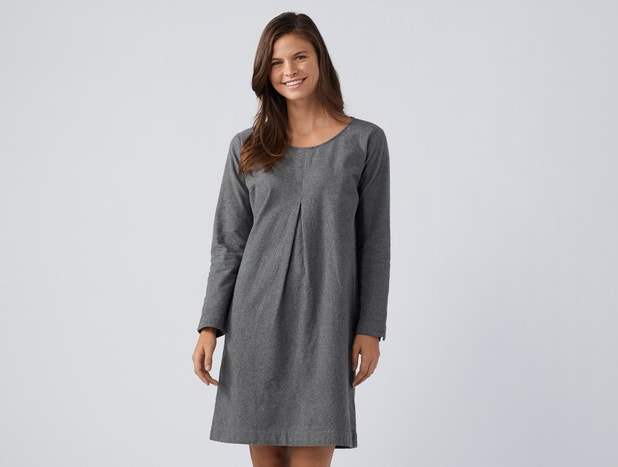 Women's Cloud Brushed™ Organic Flannel Nightshirt
