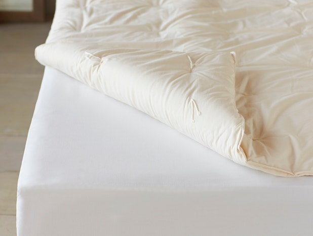 Climate Beneficial Wool Mattress Topper