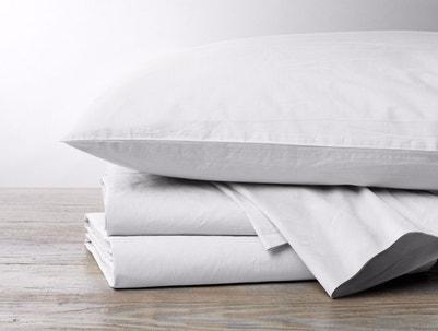 300 Thread Count Organic Percale Pillowcases