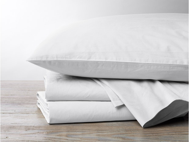500 Thread Count Organic Percale Swatch