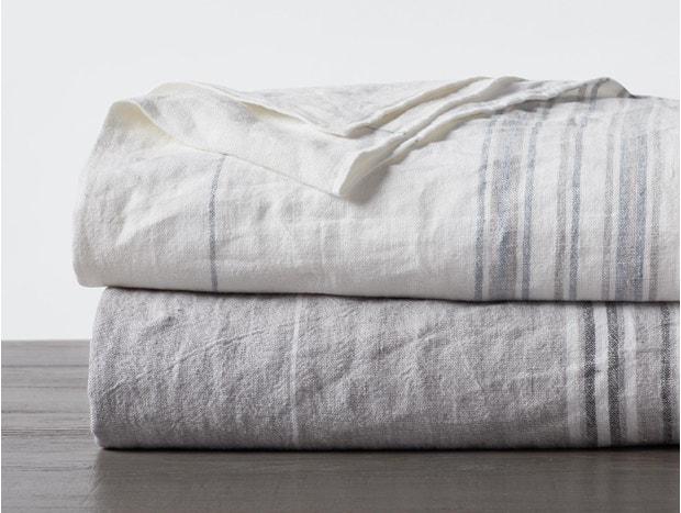Rustic Linen Blanket