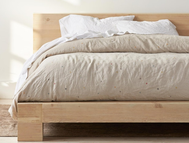 Scattered Linen Duvet Cover