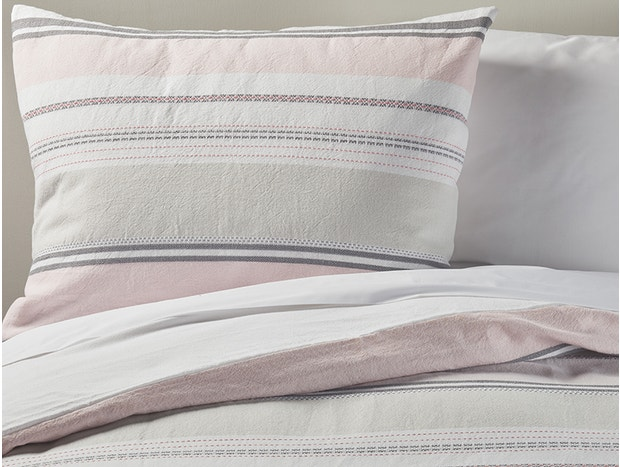 Sunset Stripe Duvet & Sham Set
