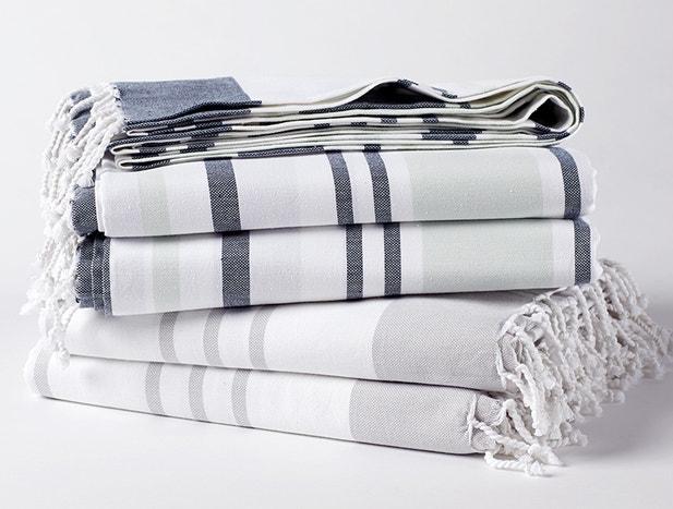 Sutro Stripe Organic Blanket