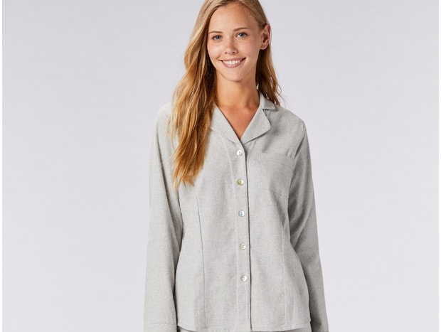 Women's Cloud Brushed Organic Flannel™ Pajama Set