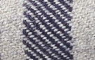 Gray w/ Indigo Stripe