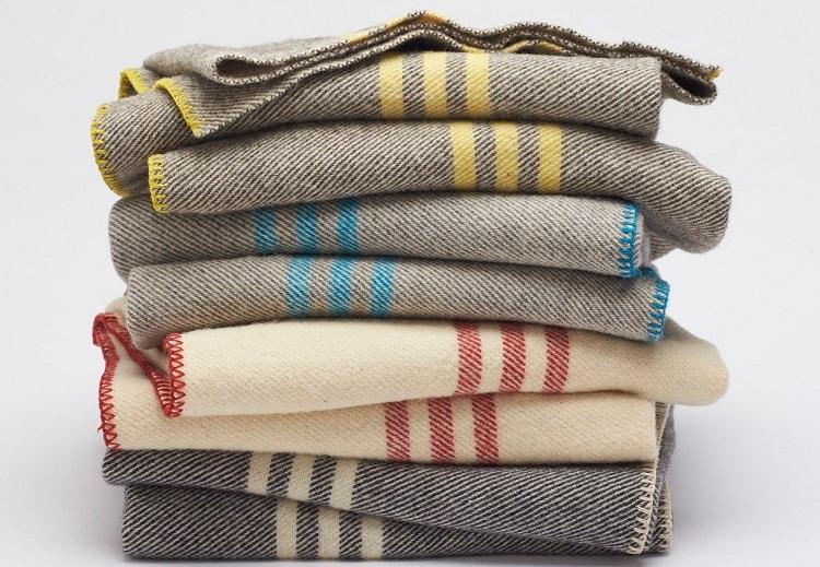 Striped Wool Blanket