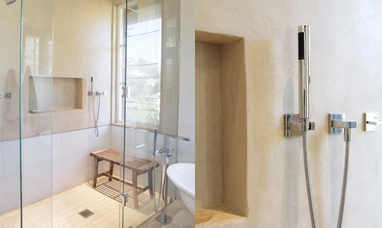Yanai Also Specializes In Plastering Exterior Walls And Shower Stalls With  Eco Stucco Lime Plaster, In The Moroccan Tadelakt Style Of The Plaster That  Dates ...