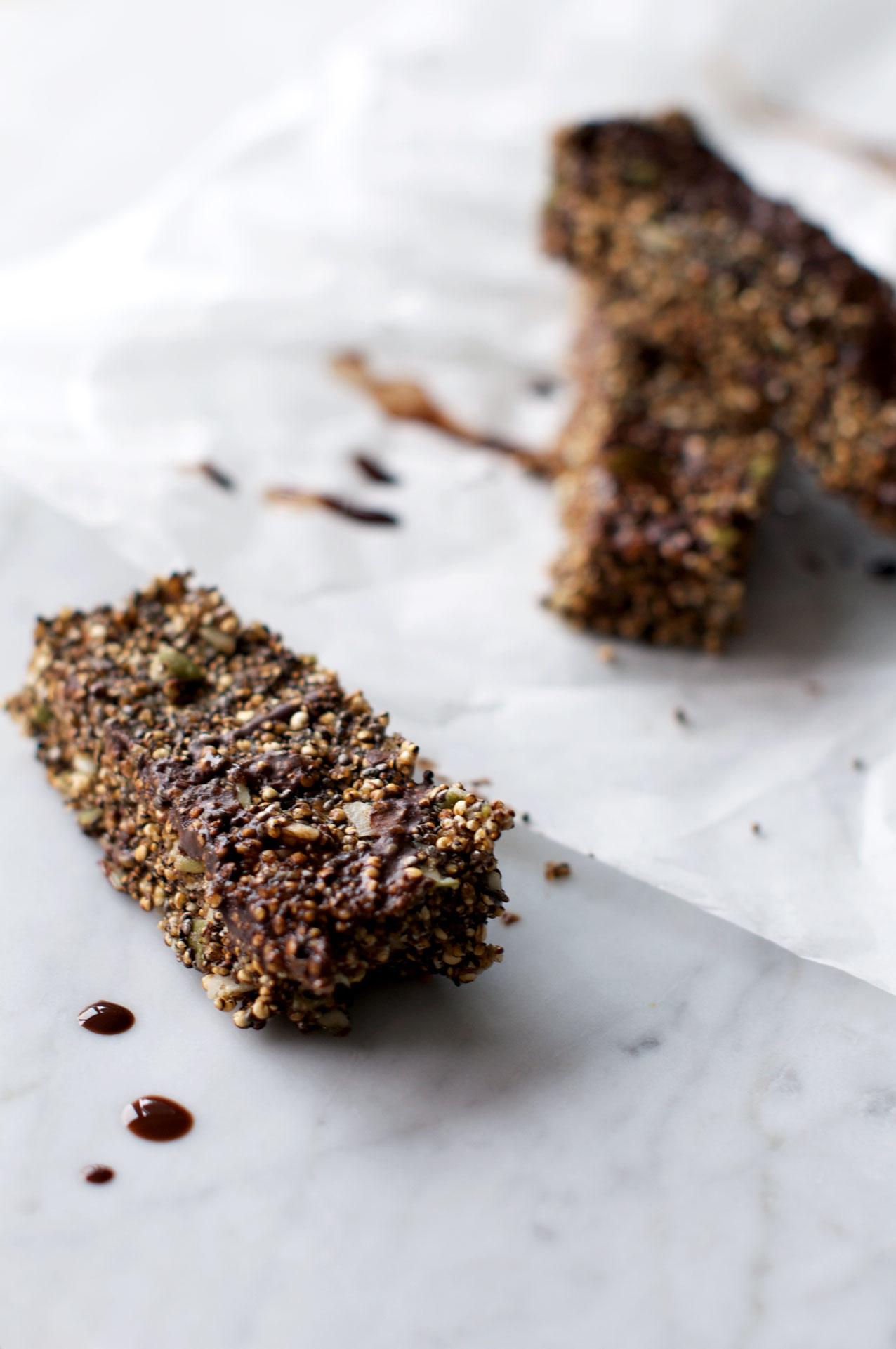 Popped Protein Bars