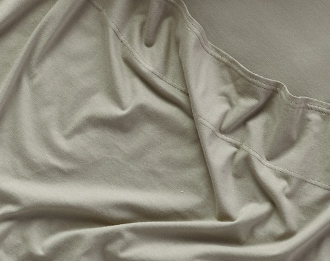 detail shot of Organic Jersey Sheets