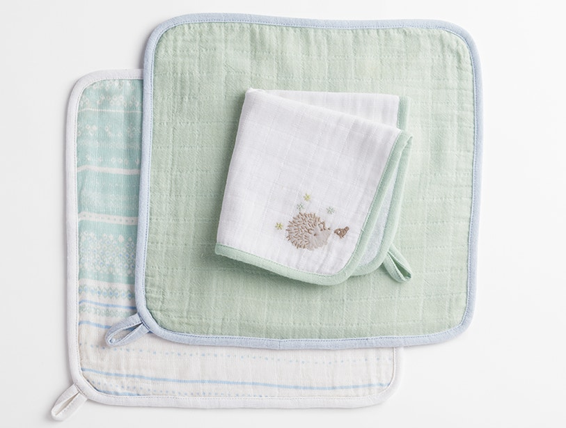 Muslin Wash Cloth Set