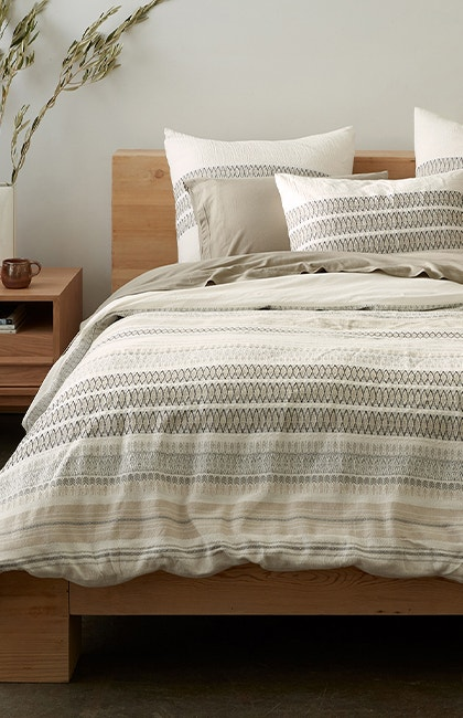 Lost Coast Organic Duvet Cover