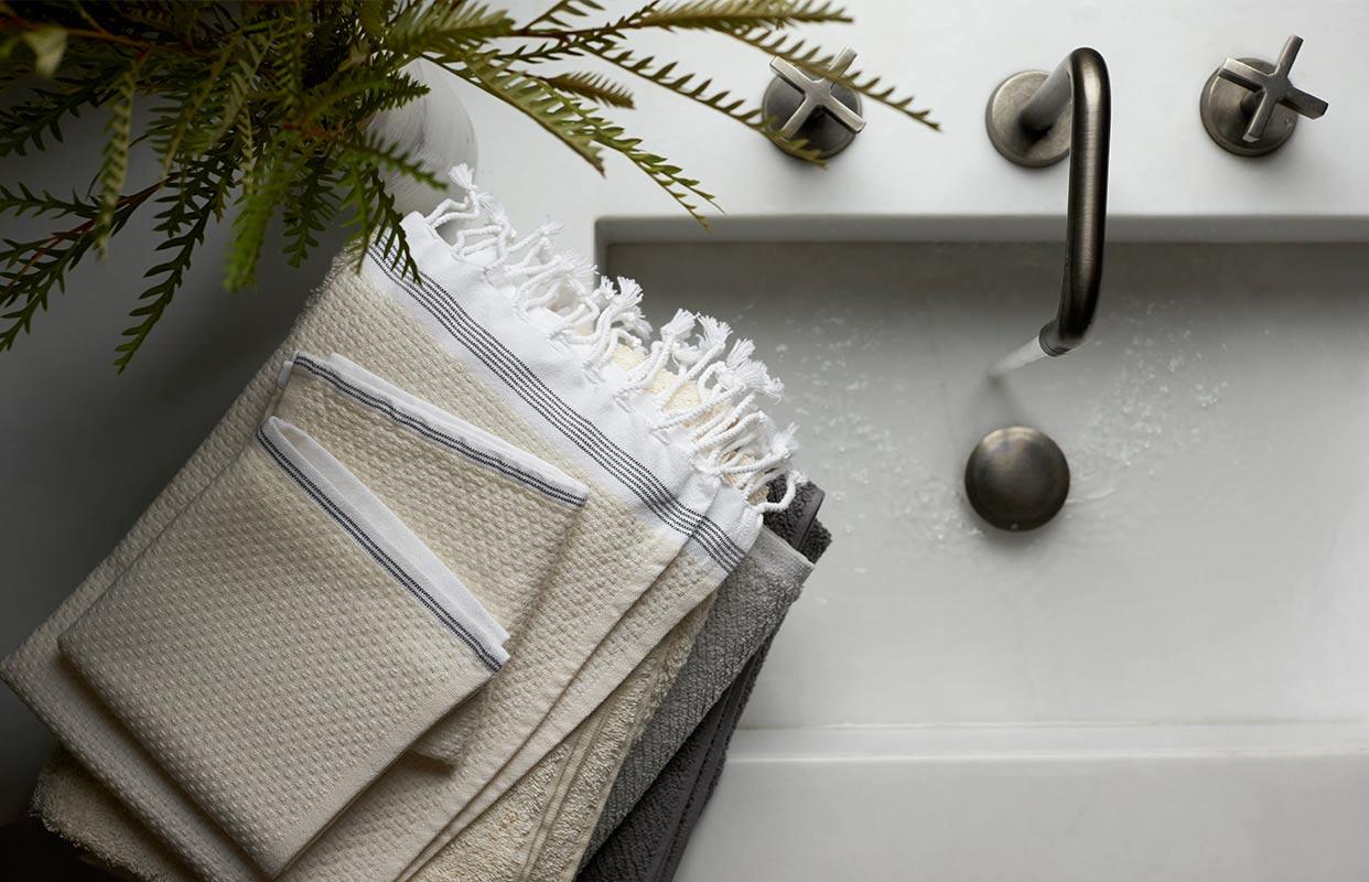 Organic Mediterranean Towels