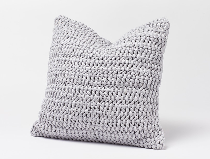 Woven Rope Pillow