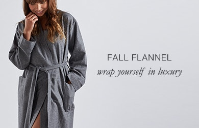 Fall Flannel: wrap yourself in luxury