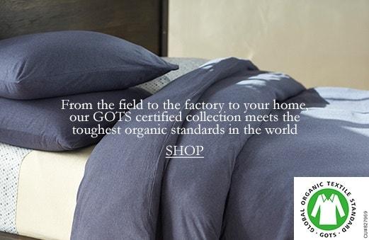 Shop GOTS Certified Organic Cotton