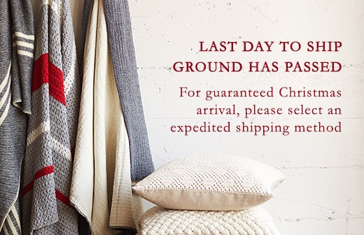 Last Day to Ship Ground has passed. Select expedited shipping for Holiday Arrival.
