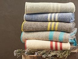 Shop-Striped-wool-blanket