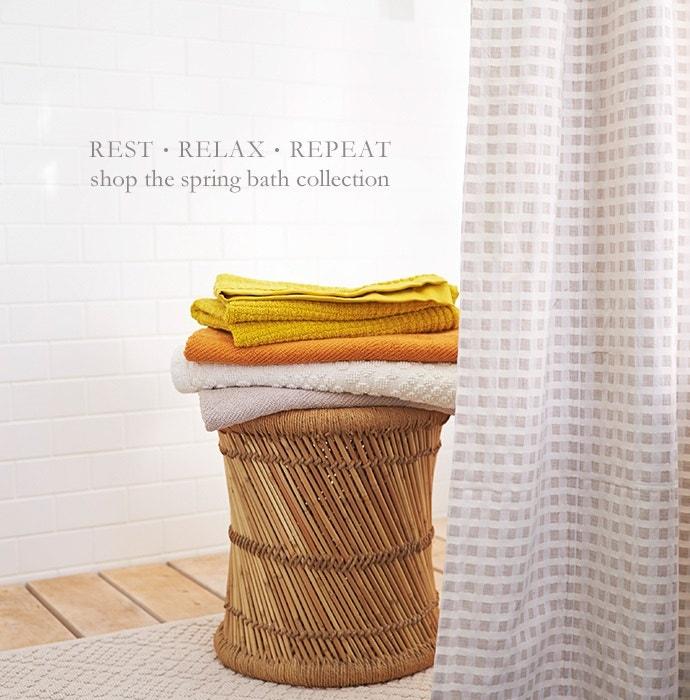 Shop the Spring Bath Collection