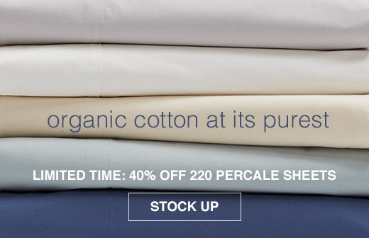 Shop 220 Percale