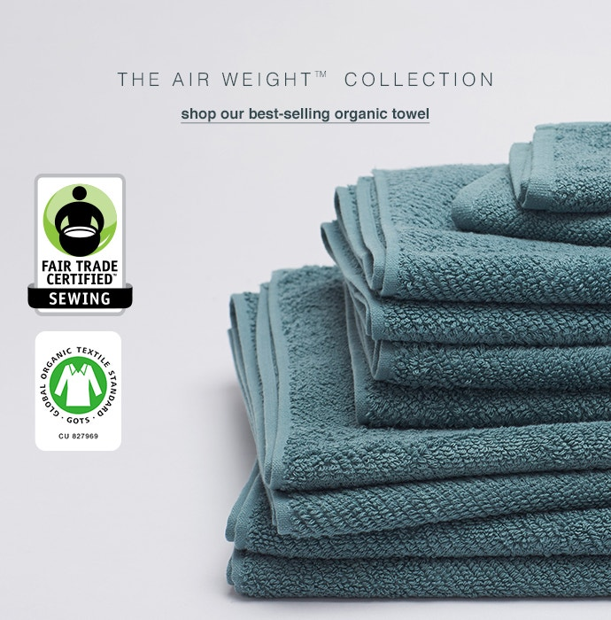 Shop Fair Trade Certified Air Weight Towels