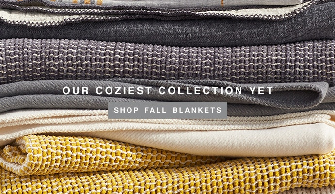 Shop New Fall Blankets