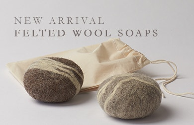 New Felted Wool Soaps