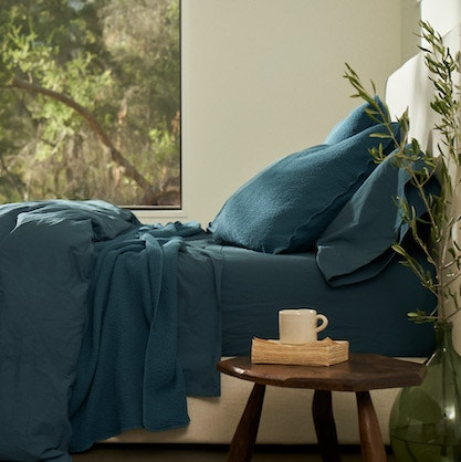 aegean colored bedding