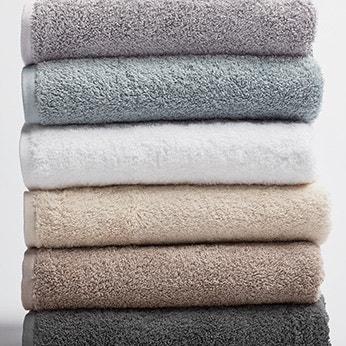 Cloud Loom towel stack