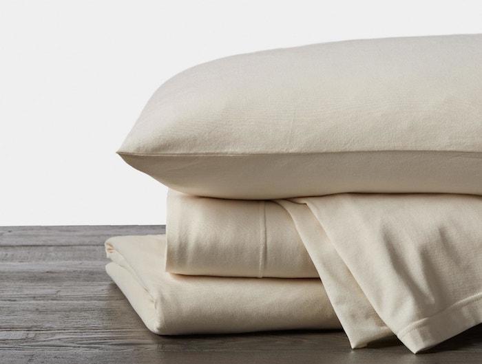 undyed organic jersey sheets