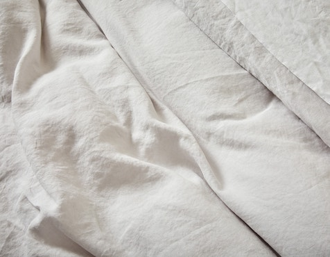 Heavyweight organic linen sheets