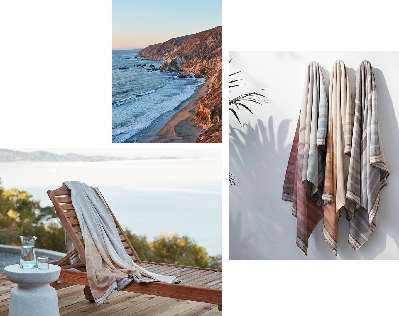 Tomales Organic Beach Towel