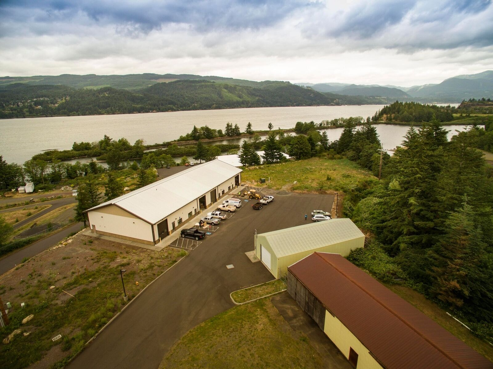 scenic view of the Renewal Workshop warehouse